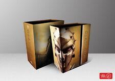 Gladiator Steelbook Ultimate Edition Tripack Hdzeta No3 Blu-Ray New&Seal-500 Onl