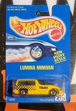 "1992 HOT WHEELS NEW PAINT STYLE ** LUMINA MINIVAN ** #259 1:64 "" BAD CARD """