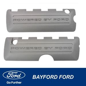 GENUINE FORD MUSTANG (2015) 5L LH+RH (PAIR) DECORATIVE ENGINE COVER SET