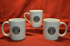 3  Starbucks  Coffee Mugs Classic Green Logo