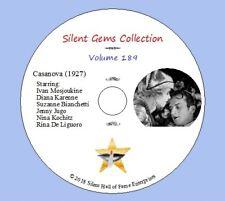 "DVD ""Casanova"" (1927) Classic French Silent Drama"