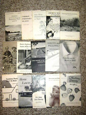 54 Educational Booklets - 1933 to 1969 - Extension Bulletins - Cornell U. - More