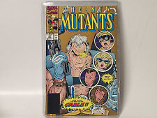 NEW MUTANTS #87 Marvel Comics 1998 VF 1st app. CABLE  Rob Liefeld 2nd print GOLD