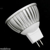 GU10 MR16 4W 6W BLANC CHAUD BLANC FROID LED ÉCONOMIE D'ÉNERGIE AMPOULE LAMPE