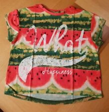 Girls cropped T shirt age 8-9 years