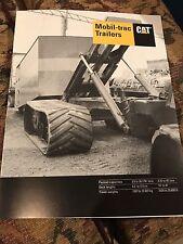Caterpillar Mobil Trac Product Brochure Very Rare