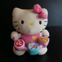 Peluche HELLO KITTY 1976 2010 SANRIO License jouet musical VTECH design N5747