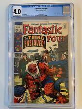 Fantastic Four #91 - CGC 4.0 - Marvel 1969