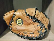 "Wilson A730 34"" Mitt RHT catchers baseball glove.A0730 CM.Echo Leather EZ-Snap"