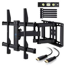 TV Wall Mount Flat Screen Plasma 37 70 Inch Full Motion Tilt Swivel Rotating NEW