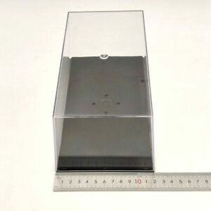 22cm Model Car Display Box Acrylic Case Cover Transparent Dust Proof 1:24 1:32