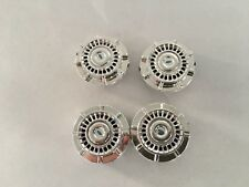 1:18 Police Wheels MotorMax Silver Chrome Rims Ford Crown Victoria (SET OF 4)