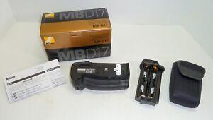 Nikon MB-D17 Multi-Power Battery Pack in Original Box--For Nikon D500