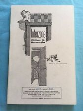 INTERZONE - UNCORRECTED PROOF BY WILLIAM S. BURROUGHS