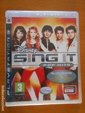 PS3 - DISNEY SING IT POP HITS - PLAYSTATION 3 - VERSION ESPAÑA (AC)