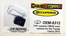 NEW Crimestopper OEM-6312 CMOS OEM Style Color Camera for the 2012 Toyota Camry