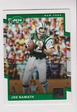 2017 Donruss #206 Joe Namath card, New York Jets HOF