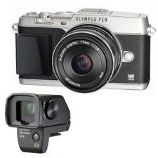 USED Olympus PEN E-P1 12.3MP Digital Camera - Silver (Kit w/ 14-42mm Lens)