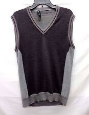 Etro Grey Knit Men's Vest, Size XL
