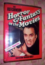 TOM HUTCHINSON HORROR & FANTASY IN THE MOVIES 1ST/1974/DJ FORWARD VINCENT PRICE