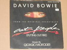 "DAVID BOWIE -Cat People (Putting Out The Fire)- 7"" 45"