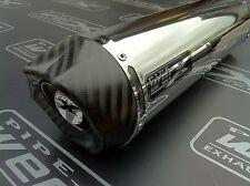 Pipe Werx Kawasaki ZXR 750 ZXR750 Inoxydable Rond,Sortie Carbone,Echappement,Can