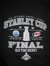 Old Time Hockey 2006 Stanley Cup Finals OILERS vs HURRICANES (MED) T-Shirt