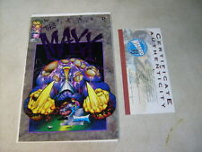 MAXX 1/2 limited WIZARD EDITION with COA, SAM KIETH, 1993, IMAGE