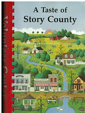 AMES IA 1998 A TASTE OF STORY COUNTY COOK BOOK *VOLUNTEER CENTER *IOWA COMMUNITY