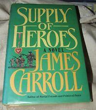 1986 First SUPPLY OF HEROES Signed James Carroll Ireland Irish Rebellion & WWI