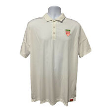 Nike Belarus Team Dri-Fit Polo Shirt White AJ6639-100 Men's Size XL