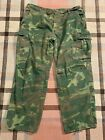 US 1968 Vietnam War Era Large Regular Tropical Combat Trousers Pants Jungle CamoUniforms - 104017