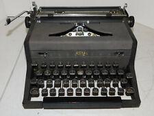 Vintage Royal Arrow Portable Manual Typewriter w/Case -1940's - Works Good!