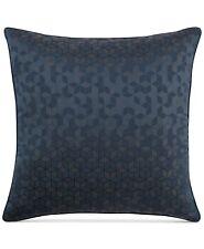 Hotel Collection Cubist EURO Pillowshams Woven Jacquard Blue