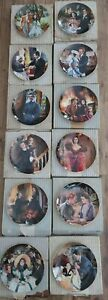 All 12 GONE WITH THE WIND: Golden Anniversary Plates ~Howard Rogers~ W.S. GEORGE