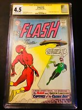 Flash 131 CGC 4.5  SS 1st Green Lantern crossover In Flash Series 1 of 6 Signed