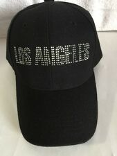 Los Angeles Adjustable hat Glitter Words New