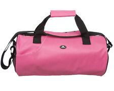 Pink Lightweight Water Resistant Gym Bag Holdall Duffel Sports Barrel Shoulder