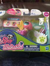 Littlest Pet Shop #2314 Walkables Dragon Fly NIP Purple Pink LPS