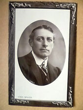 1909 Used Antique Real Photo Postcards- Actors MR. LEWIS WALLER, No.529170+Stamp
