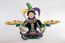 Mardi Gras Jester w Trays - Treats Cupcakes - Katherine's Collection 28-828117