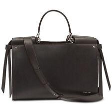 Calvin Klein Callie Pebble Leather Tote NEW OSFA BLACK