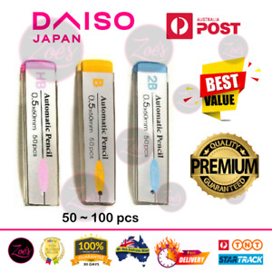 DAISO Pilot Mechanical Pencil Pacer Lead Refill 0.5 HB 2B B Automatic Drafting