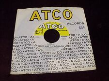 """DEREK AND THE DOMINOS """"LAYLA / I AM YOURS"""" 7"""" 45 ATCO 1972 PRESS ERIC CLAPTON"""