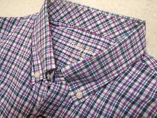 Bobby Jones X-H2O Performance Fabric  Matthers Plaid Sport Shirt NWT Large $125