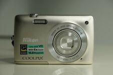 Nikon COOLPIX S4300 16 MP Digital Camera-Silver