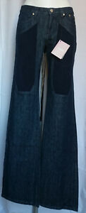 Pantaloni Donna Jeckerson Jeans  blu denim Tg 26,27,28,29 Made in Italy
