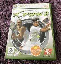 TOP Spin 2 (Microsoft Xbox 360, 2006) PAL Tennis Sport Fun N/M