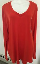 Merona Women's 100% Cotton Long Sleeve T-Sirt Size 4X
