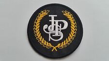 MOTOR RACING CAR SPEED FESTIVAL SEW ON / IRON ON PATCH:- JOHN PLAYER SPECIAL JPS
